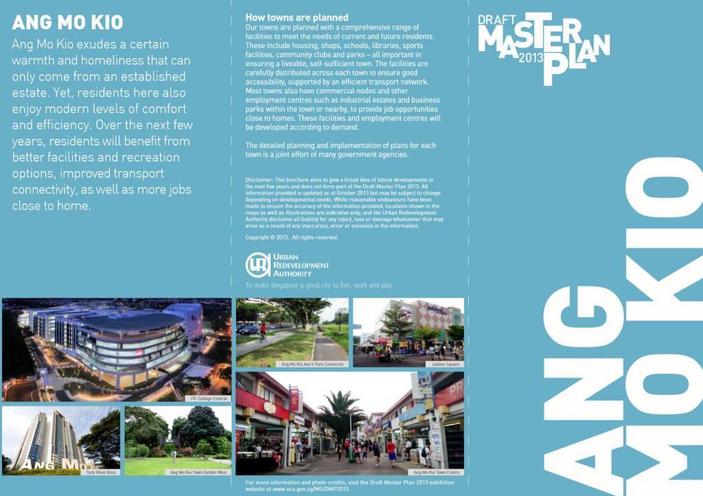 Ang Mo Kio Ura Master plan
